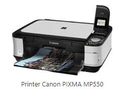 Canon PIXMA MP550 Driver Windows 10
